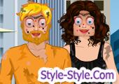 لعبة صالون التجميل للبنت والولد