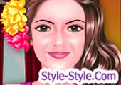 لعبة تنظيف الوجه وقص الشعر