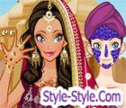 لعبة مكياج البنت الهندية
