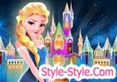 لعبة السا فروزن والقصر