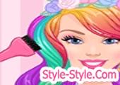 العاب قص شعر بنات