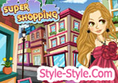 super shopping game