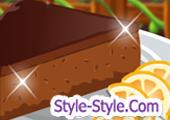 لعبة طبخ كيك الشوكولاتة والقشطة