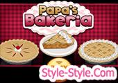 العاب طبخ باباس 2017 Bakeria