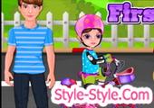 العاب تركيب دراجات اطفال