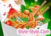 لعبة طبخ طعام صيني