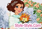 لعبة مكياج وتلبيس العروسة الجميلة
