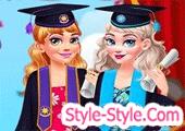 لعبة تلبيس وتصميم ملابس التخرج