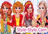 العاب تلبيس بنات ملابس ومكياج