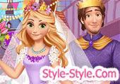 لعبة العروسة ربانزل