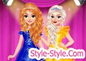 لعبة تصميم فساتين الاميرة راقصة البالية