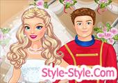 لعبة تلبيس عروسة يوم الفرح