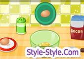 لعبة طبخ كيك المنزل