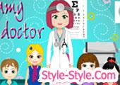 العاب دكتورة العيون