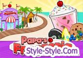 لعبة مثلجات بابا