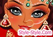 العاب تصميم ازياء هندية