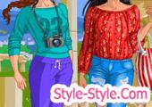 العاب بنات تلبيس على الموضة