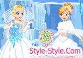 العاب تلبيس عرائس فساتين زفاف ومكياج