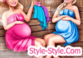 لعبة باربي والسا الحوامل في الساونا
