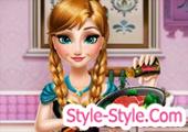 العاب آنا طبخ