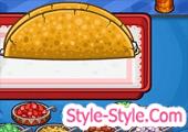 لعبة مطعم باباس تاكو ميا