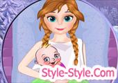 لعبة توليد آنا الحامل