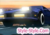 لعبة سباق سيارات جديدة