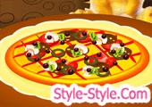 العاب طبخ بيتزا مع جينجر