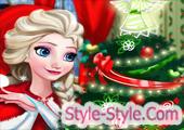 لعبة السا ديكور غرفة عيد الميلاد