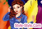 لعبة تلبيس بنات ستايل كول