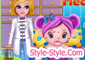 لعبة طبيبة اطفال
