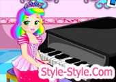 لعبة البيانو بيبي ياسمين...