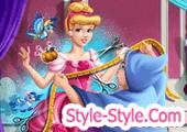 العاب خياطة ملابس سندريلا