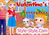 لعبة بيبى هازل فى عيد الحب