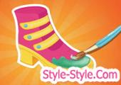 العاب تصميم الحذاء