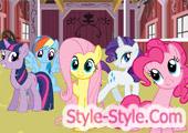 لعبة الحصان بوني واصدقائه