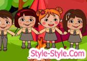 العاب معسكر البنات لعبة جديدة