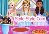 العاب بنات طبخ اميرات