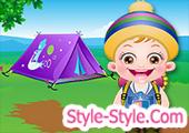 لعبة بيبي هازل في المخيم الصيفي