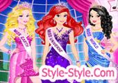 العاب اميرات ديزني ملكات الجمال