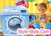 العاب غسيل الملابس والالعاب للاطفال