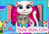 لعبة توليد قطط