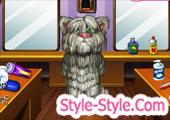 العاب تنظيف توم القط المتكلم وقص شعر