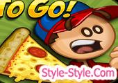 العاب باباس طبخ بيتزا