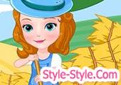 لعبة الاميرة صوفيا في المزرعة
