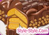 العاب طبخ كيك بالشوكولاتة وزبدة الفول السوداني