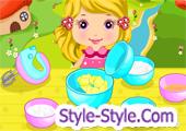 لعبة طبخ كيك اطفال