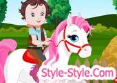 العاب بيبي ليزي والحصان