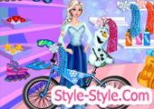 لعبة دراجة السا فروزن...