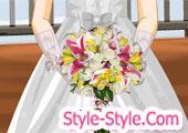 العاب باقة الزهور للعروسة...